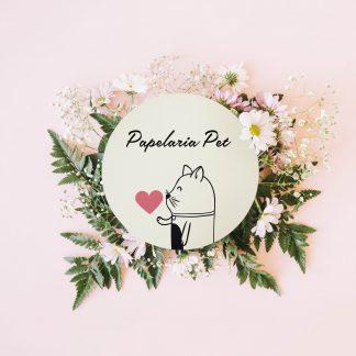 Papelaria Pet  ( 3 itens Personalizados )