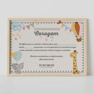 Certificado de Coragem